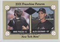 Mike Piazza, Alex Escobar /201