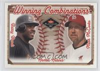 Barry Bonds, Mark McGwire /500