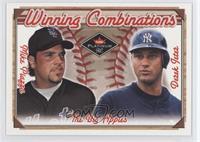Mike Piazza, Derek Jeter /500