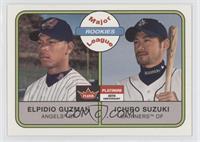 Ichiro Suzuki, Elpidio Guzman