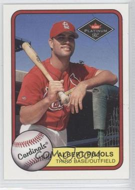 2001 Fleer Platinum #521 - Albert Pujols