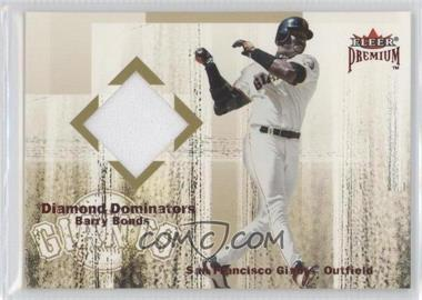 2001 Fleer Premium Diamond Dominators Jerseys #BABO - Barry Bonds