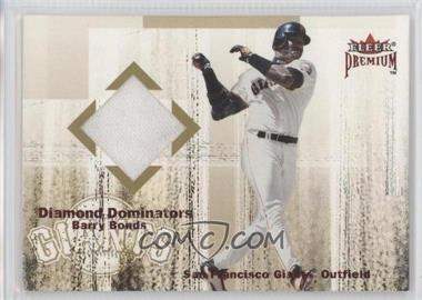 2001 Fleer Premium Diamond Dominators Jerseys #N/A - Barry Bonds