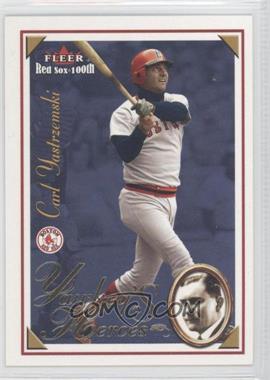 2001 Fleer Red Sox 100th [???] #8YH - Carl Yastrzemski