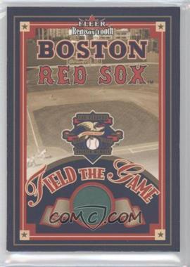 2001 Fleer Red Sox 100th [???] #N/A - Fenway Park