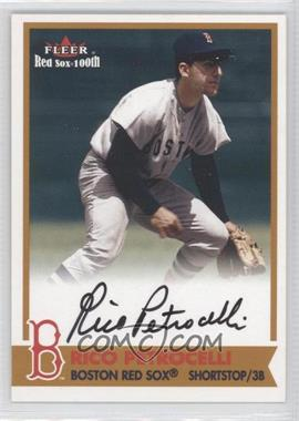 2001 Fleer Red Sox 100th BoSox Sigs #N/A - Rico Petrocelli