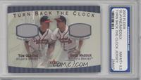 Tom Glavine, Greg Maddux [ENCASED]