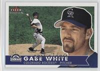 Gabe White [MISPRINTED]