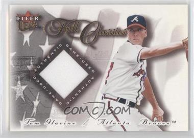 2001 Fleer Ultra - Fall Classics Memorabilia #TOGL - Tom Glavine