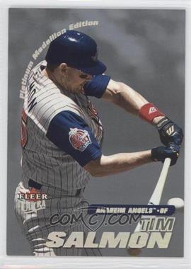 2001 Fleer Ultra [???] #201P - Tim Salmon /50