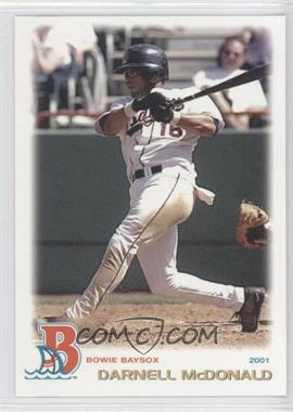 2001 Grandstand Bowie Baysox #N/A - David McCarty