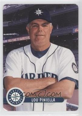 2001 Keebler Seattle Mariners Stadium Giveaway [Base] #1 - Lou Piniella