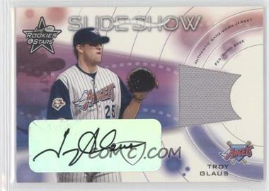2001 Leaf Rookies & Stars - SlideShow - Autographs [Autographed] #SS-11 - Troy Glaus /100