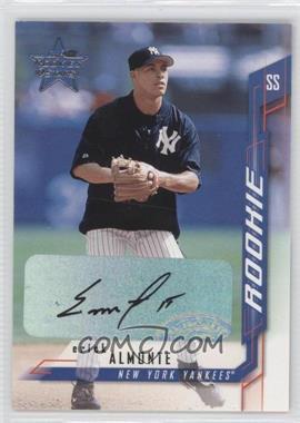 2001 Leaf Rookies & Stars Autographs [Autographed] #155 - Erick Almonte
