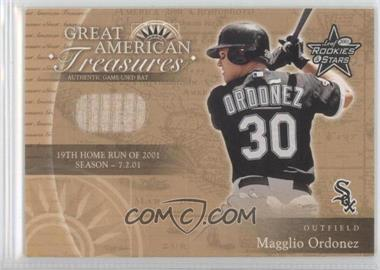 2001 Leaf Rookies & Stars Great American Treasures #GT-2 - Magglio Ordonez