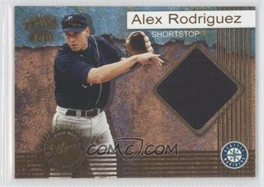 2001 Pacific Game-Worn Jerseys #8 - Alex Rodriguez