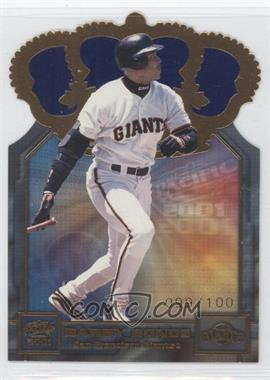 2001 Pacific Gold Crown Die-Cuts Blue #31 - Barry Bonds /100