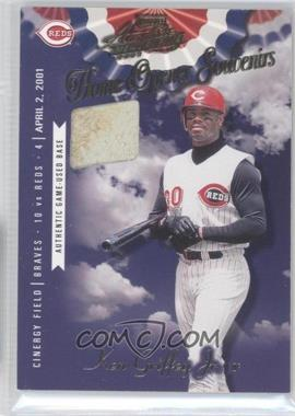 2001 Playoff Absolute Memorabilia Home Opener Souvenirs Single #OD-24 - Ken Griffey Jr. /400