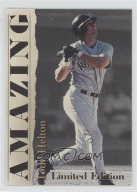 2001 Royal Rookies Throwbacks - Amazing - Limited Edition #A2 - Todd Helton