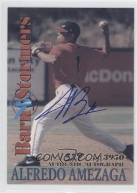 2001 Royal Rookies Throwbacks - BarnStormers - Autographs [Autographed] #B4 - Alfredo Amezaga /3950