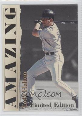 2001 Royal Rookies Throwbacks Amazing Limited Edition #A4 - Todd Helton