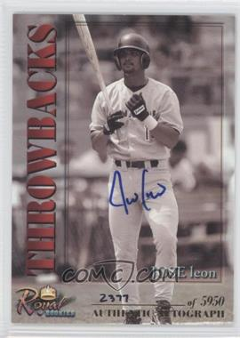 2001 Royal Rookies Throwbacks Autographs [Autographed] #14 - Jose Leon /5950
