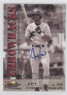 2001 Royal Rookies Throwbacks Autographs [Autographed] #14 - Jose Leon /5950