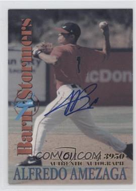 2001 Royal Rookies Throwbacks BarnStormers Autographs [Autographed] #B4 - Alfredo Amezaga /3950