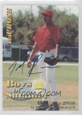 2001 Royal Rookies Throwbacks Boys of Summer Autographs [Autographed] #BOS#7 - [Missing] /2950