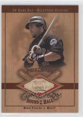 2001 SP Game Bat Edition [???] #B-MP - Mike Piazza