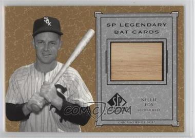 2001 SP Legendary Cuts - Legendary Bats #B-NF - Nellie Fox