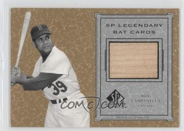 2001 SP Legendary Cuts Legendary Bats #B-RCA - Roy Campanella