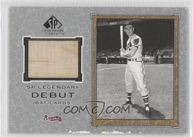 2001 SP Legendary Cuts Legendary Debut Bats #D-JA - Joe Adcock