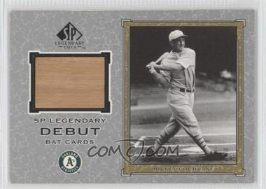 2001 SP Legendary Cuts Legendary Debut Bats #D-MC - Mickey Cochrane