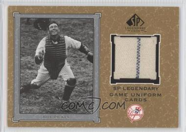 2001 SP Legendary Cuts Legendary Game Uniform #J-BD - Bill Dickey