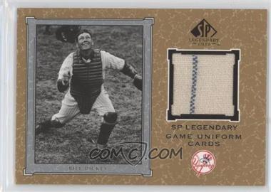 2001 SP Legendary Cuts Legendary Game Uniform #J-BD - Bill Dickey