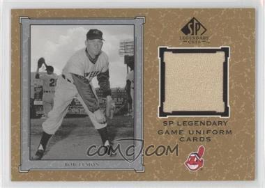 2001 SP Legendary Cuts Legendary Game Uniform #J-BL - Bob Lemon