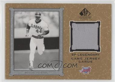 2001 SP Legendary Cuts Legendary Game Uniform #J-RJ - Reggie Jackson