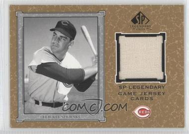 2001 SP Legendary Cuts Legendary Game Uniform #J-TK - Ted Kluszewski