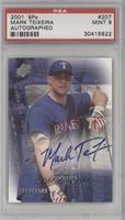Rookies/Young Stars Autograph - Mark Teixeira /1500 [PSA9]