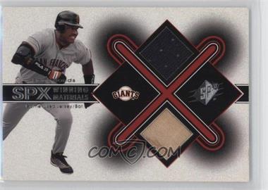 2001 SPx - Winning Materials #BB1 - Barry Bonds