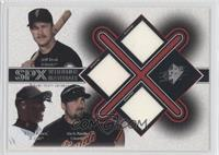 Jeff Kent, Barry Bonds, Rich Aurilia