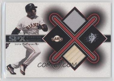 2001 SPx Winning Materials #BB2 - Barry Bonds