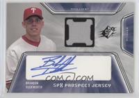 Prospect Jersey Autograph - Brandon Duckworth