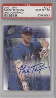 Rookies/Young Stars Autograph - Mark Teixeira /1500 [PSA10]