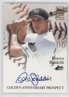 2001 Topps - Golden Anniversary Autographs #GAA-RB - Rocco Baldelli
