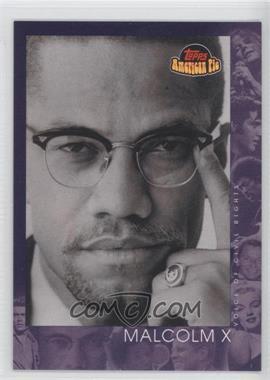 2001 Topps American Pie - [Base] #150 - Malcolm X