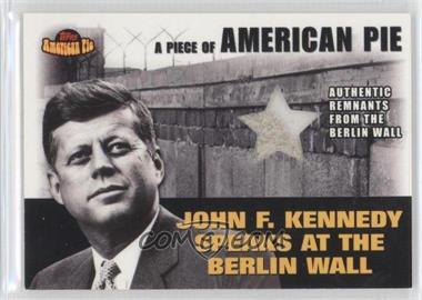 2001 Topps American Pie - Relics #PAPM2 - John F. Kennedy