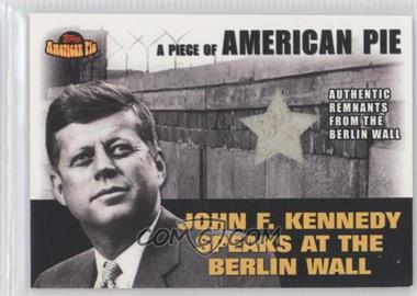 2001 Topps American Pie Relics #PAPM2 - John F. Kennedy