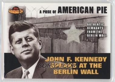 2001 Topps American Pie Relics #PAPM2 - John F. Kennedy